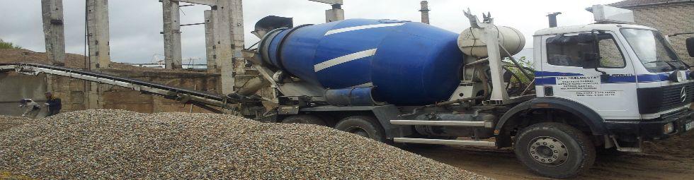 betono gamyba ir transportavimas